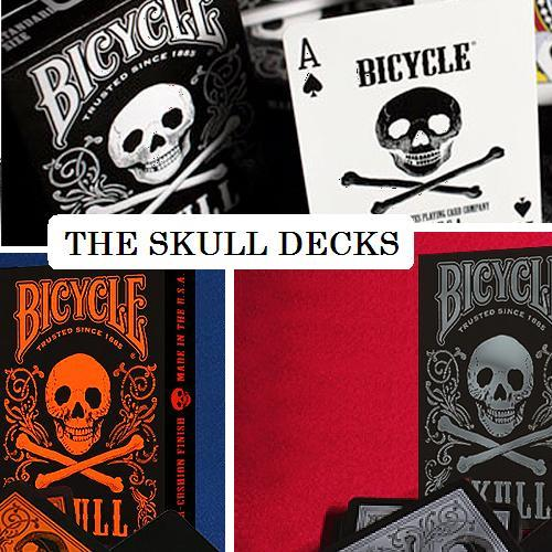 The 3 SKULL decks Collection